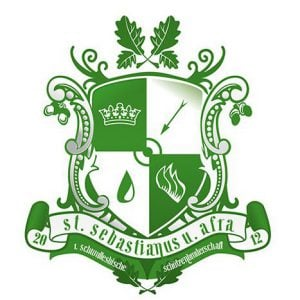 Das Wappen der Bruderschaft Afra