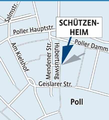 Lageplan schuetzenheim